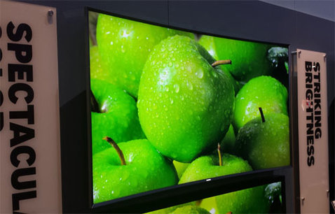 The first Quantum dot television by Samsung
