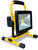 Portable dimmable rechargeable LED floodlight